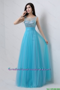 Best Selling Sweetheart Tulle 2016 Graduation Dresses with Beading