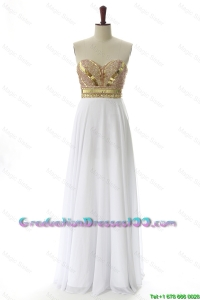 Empire Sweetheart Custom Made Graduation Dresses with Beading and Sequins