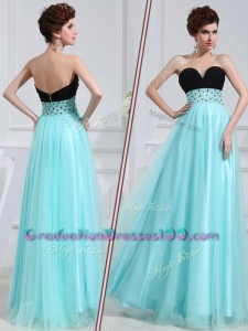 Low Price Modest Empire Sweetheart Beading Graduation Dresses for Evening