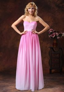 Chiffon Sweetheart Middle School Graduation Dresses in Omber Color