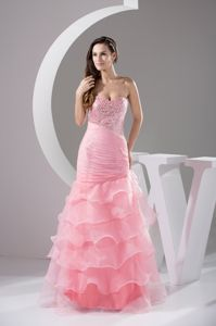 Sequined and Beaded Eighth Grade Graduation Dresses with Ruffles
