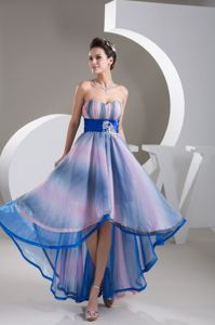 2013 low Price Colorful High-low Graduation Dresses for College