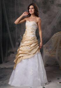 Taffeta and Organza Appliqued Graduation Dress for Juniors on Sale