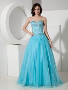 Tulle Sweetheart Graduation Dresses for Grade 8 with Rhinestones